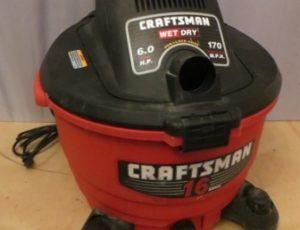 Craftsman Wet/Dry Shop Vacuum – $55