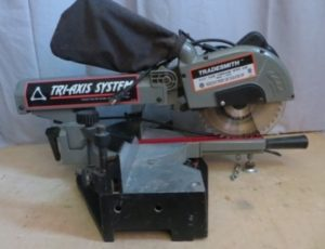 Tradesmith 8 1/2″ Slide Compound Miter Saw – $95