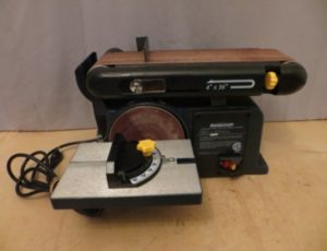 Mastercraft Belt & Disc Sander – $115