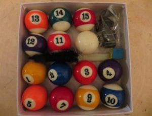 Pool Balls – $25