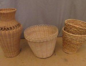 Straw Baskets – $20