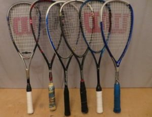 Set of Squash Racquets/Rackets and Balls – $95