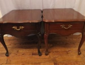 2 End Table – $130