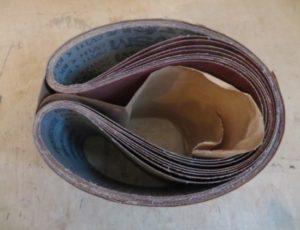 Belt Sander Paper  – $60