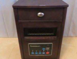 Garrison Wood Cabinet Infrared Heater – $85