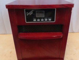 Comfort Zone Digital Quartz Infrared Heater – $75