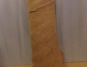 Natural Burlap  Fabric – $60