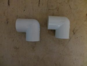 1-1/4-in  90-Degree PVC Pipe Elbow and Pipe Tee – $50