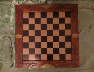 Vintage Hand carved Chess Set – $275